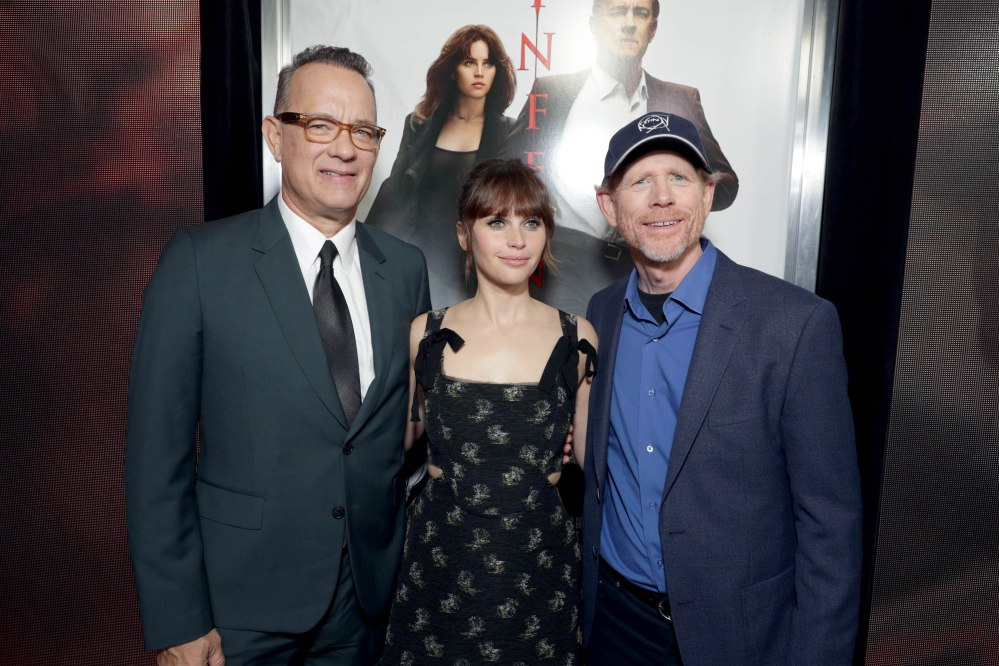 Tom Hanks, Felicity Jones, Ron Howard